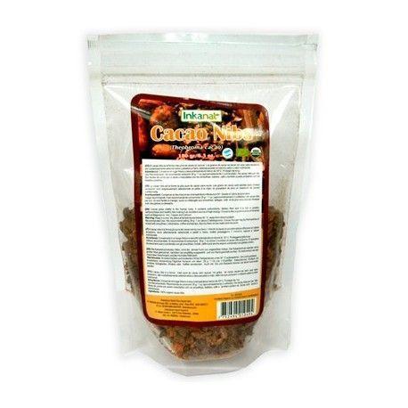 Cacao Amazonico en Nibs BIO 180gr.