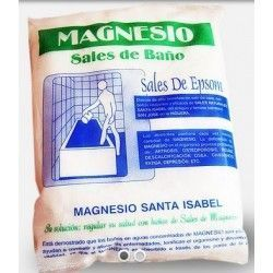 Sal de Magnesio EPSOM para Baño 4,5Kg.