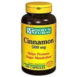 Canela 500 mg. 100 Cápsulas