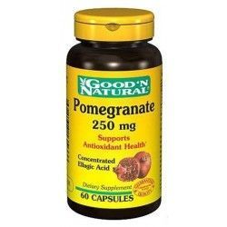 Granada (pomegrate) 250 mg. 60 Cápsulas