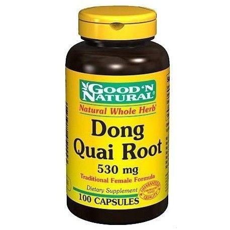 Dong Quai (Angelica sinensis) 530 mg. 100 Cápsulas