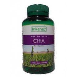 Aceite de Chia 100 perlas 500 mg.