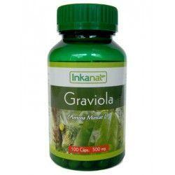 Graviola en cápsulas (100x500mg)