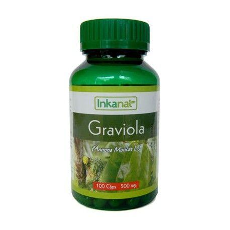 Graviola en cápsulas (90x500mg)