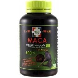 Red and black gelatinized maca (maca Premium)