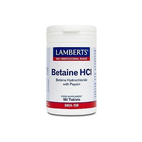 Betaína HCl 324mg/Pepsina 5mg
