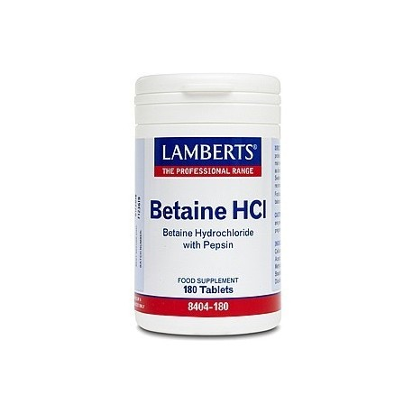 Betaine HCl provides additional acidity to the stomach