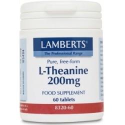L-Theanine 200mg 60 tab.