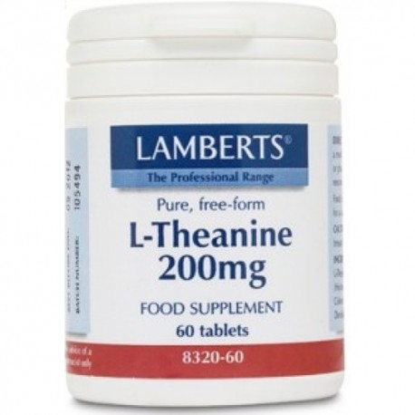 L-Theanine 200mg 60 tab.