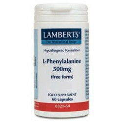 L-Fenilalanina 500 mg Natural (Forma Libre)
