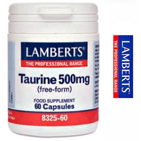 Taurina 500 mg de Lamberts®