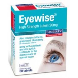 Eyewise® con 20 mg de luteína, zeaxantina, mirtilo, etc.