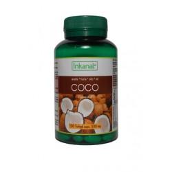 Aceite de Coco BIO en cápsulas 100x500mg.