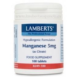 Citrato de Manganeso 5 mg
