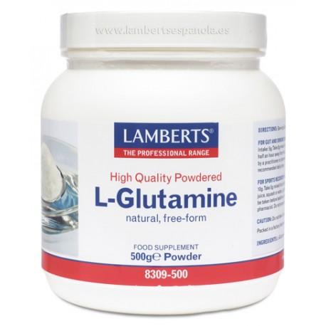 L-Glutamina (Glutamine) 500 gr Polvo