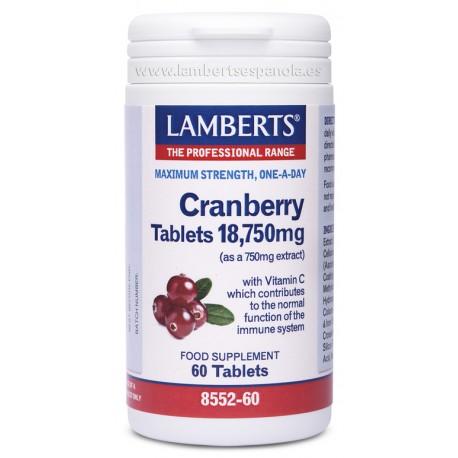 Arándano Rojo 18.750 mg 60 tabletas