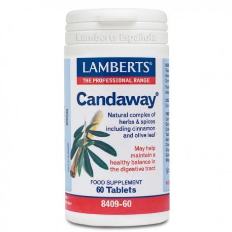 Candaway® Complejo Natural de Hierbas y Especias 60 tabletas