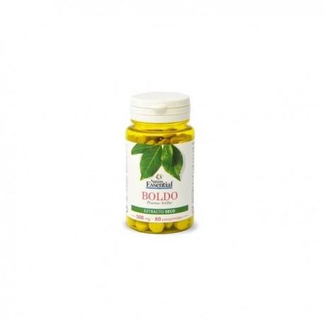 Boldo (Peumus boldus) 500 mg.