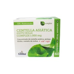 Centella asiática (gotu kola) complex 2500mg. 60 Comprimidos.