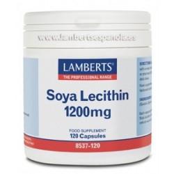 Lecitina de Soja 1200 mg 120 capsulas.