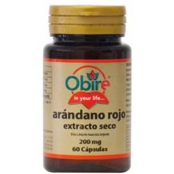 Arandanos Rojo 5000 mg. (Ext.Seco) 60 cápsulas