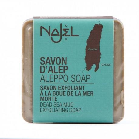 Jabon de alepo con barro y sal del mar muerto