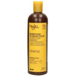 Champú de jabón de Alepo para cabello seco 500 ml.