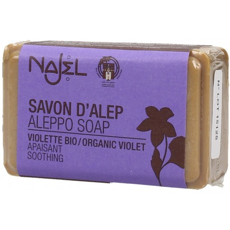 Jabon de Alepo con Violeta BIO 100 gr