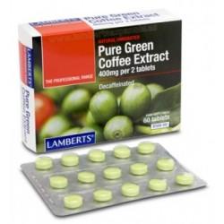 Extracto de café Verde Puro descafeinado 400 mg