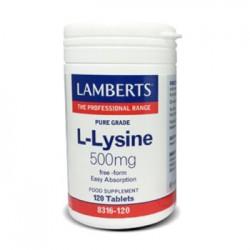 L-Lysine 500mg 120 tabletas