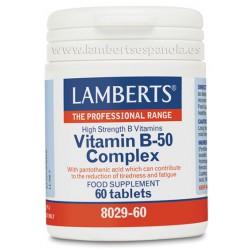 Complejo de Vitamina B-50 60 tabletas