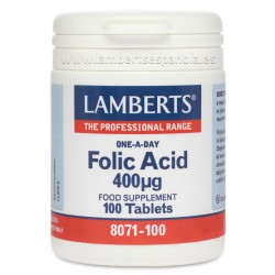Folic Acid 400µg 250 comp.