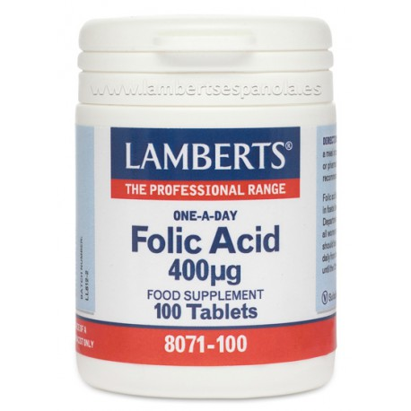 Folic Acid 400 µg Small easy-to-swallow tab