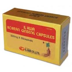 Panax Ginseng coreano IL HWA 50 cap. 500 mg