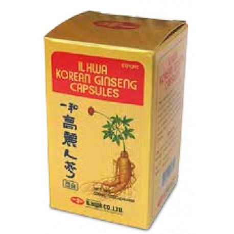 Panax Ginseng coreano IL HWA tarro 100 cap. 500 mg