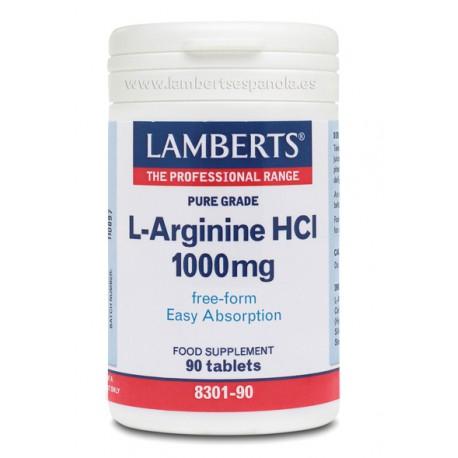 L-Arginina 1000 mg - 50 Capsulas