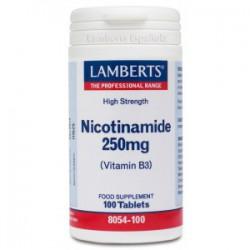 Nicotinamida 250mg (Vit B3)