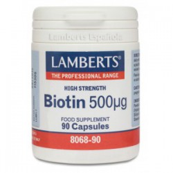 Biotina 500µg