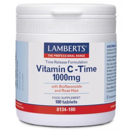 Vitamina C 1000mg con Bioflavonoides (Liberación Sostenida)