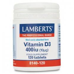 Vitamina D3 400 UI (10µg)