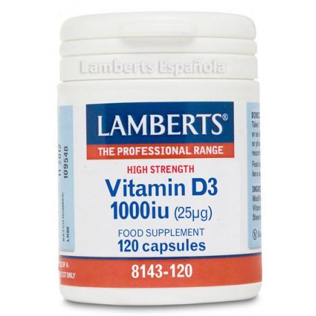 Vitamina D3 1000 UI (25µg)