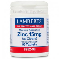 Zinc 15mg 90 90 comprimidos