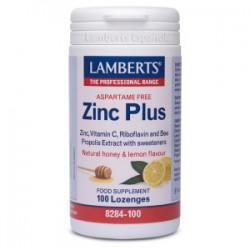 Zinc Plus para chupar