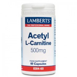 L-Acetil Carnitina 500mg 60 cápsulas