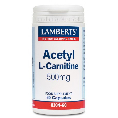 L-Acetil Carnitina 500mg