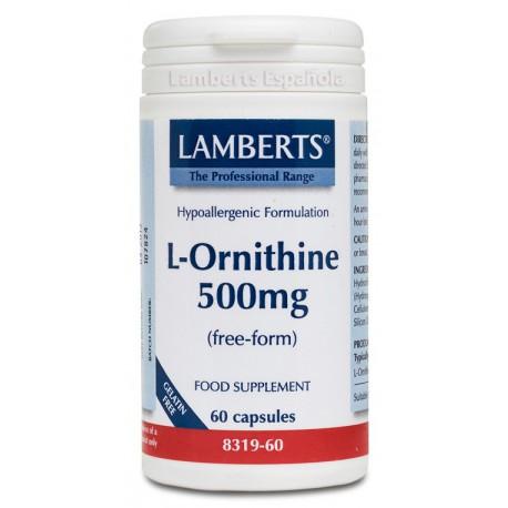 L-Ornitina 500mg