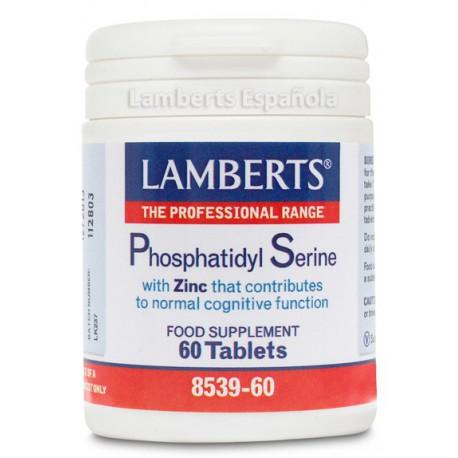 Fosfatidil Serina 100mg con Zinc 60 tabletas