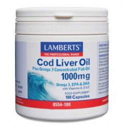 Aceite de Hígado de Bacalao 1000mg