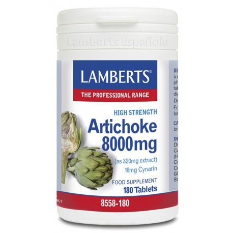 Extracto estandarizado de alcachofa 8.000 mg