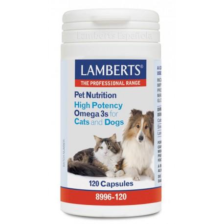 Pet Nutrition- Omega 3 Alta Potencia Gatos y Perros